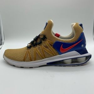 "Nike Shox Gravity ""Olympic Gold USA""."